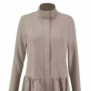 CAbi Weekend Topper Jacket Small Fossil Tan